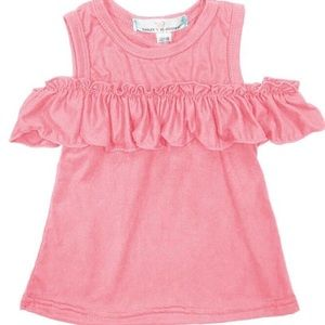 Other - NWT Baileys Blossom Lilly peek-a-boo coral shirt